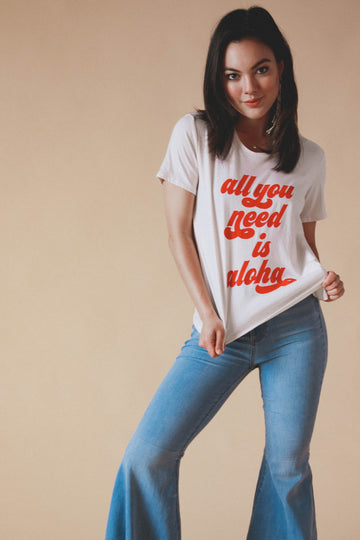 TEE ALL YOU NEED IS ALOHA - MOONSTRUCK