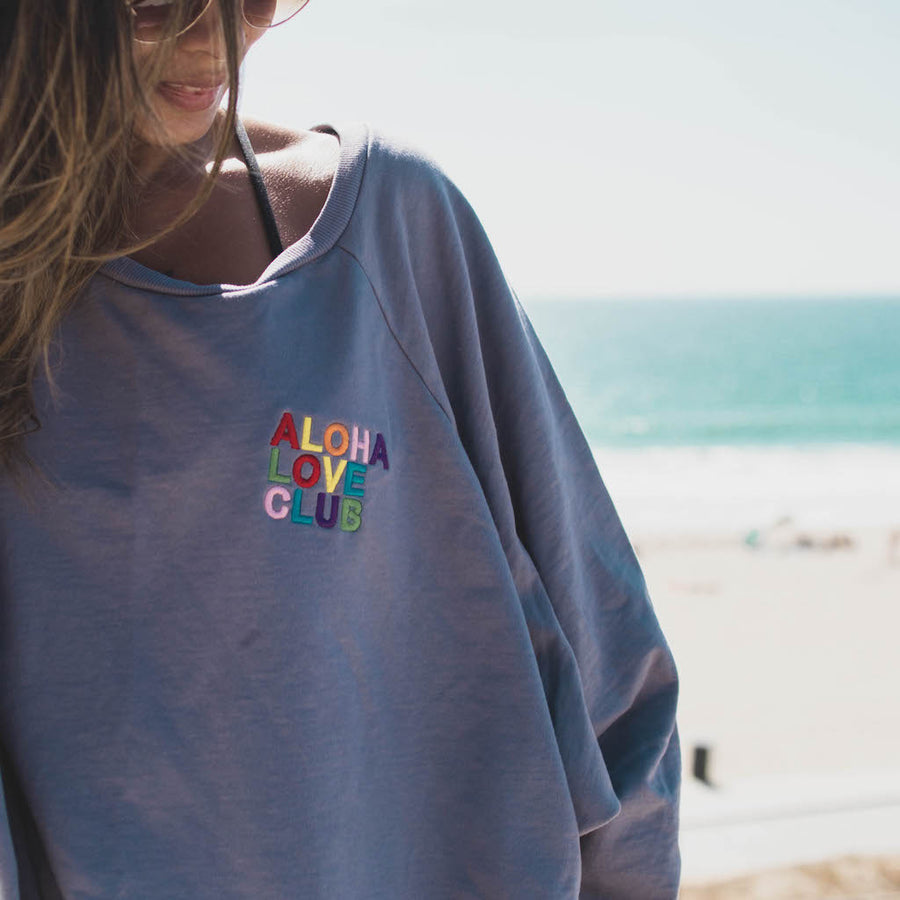 PULLOVER ALOHA LOVE CLUB - SHARK