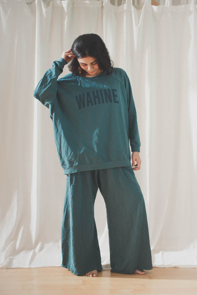 PULLOVER WAHINE - BLUE LAGOON (SAMPLE UNITS)