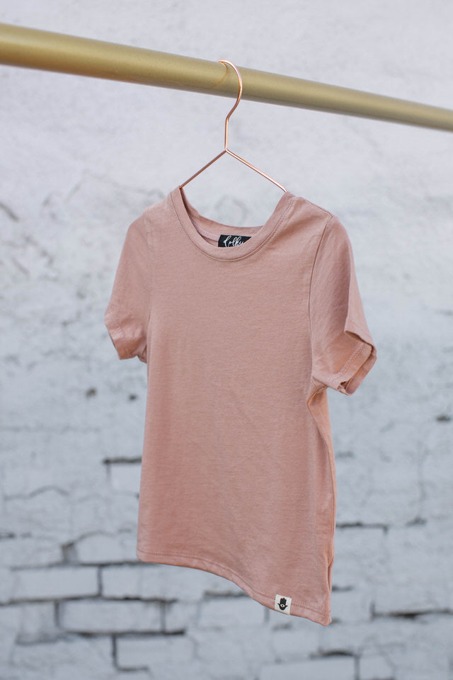 KIIKII BASIC TEE - ROSE CLOUD