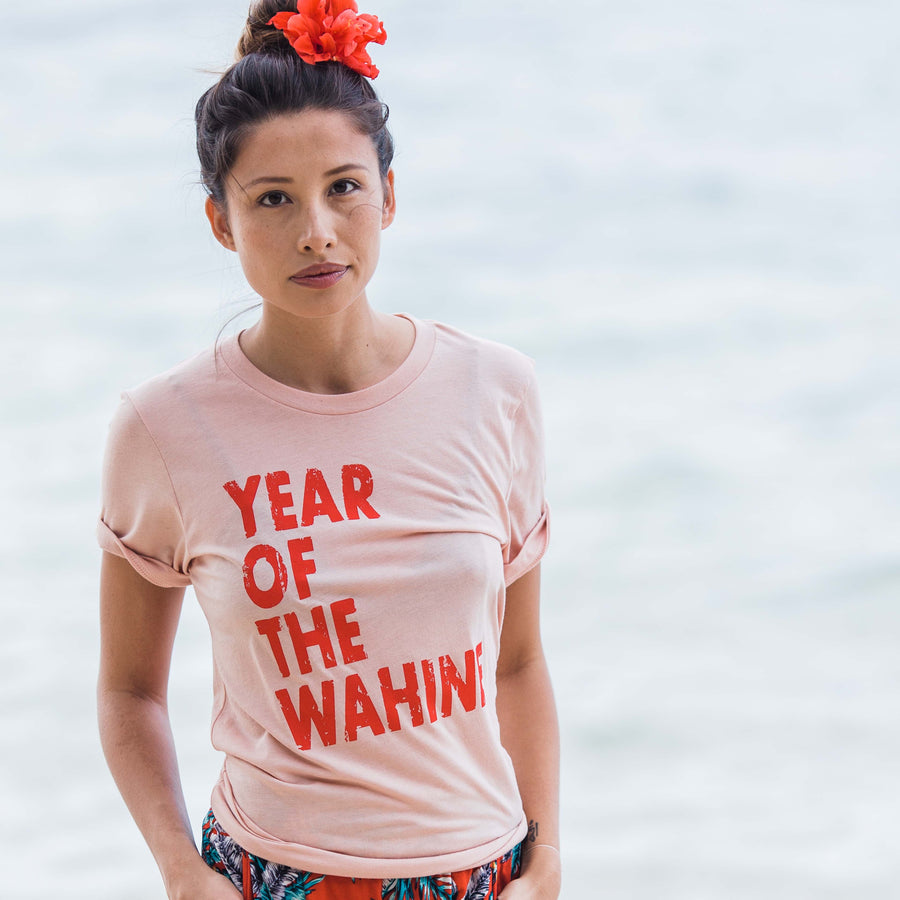 TEE YEAR OF THE WAHINE