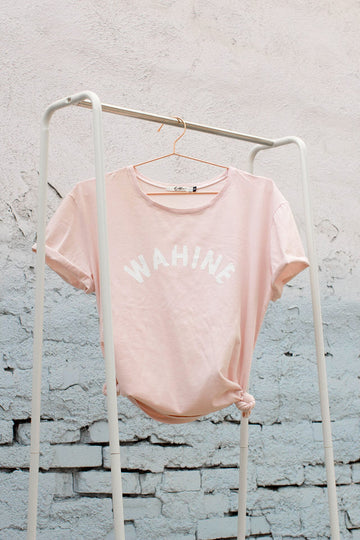 TEE WAHINE - OVERSIZED FIT - PUA PINK