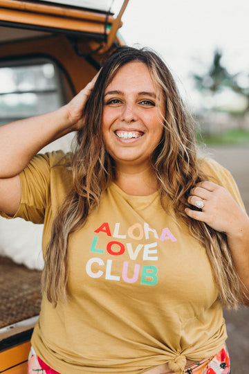 TEE ALOHA LOVE CLUB - PINEAPPLE