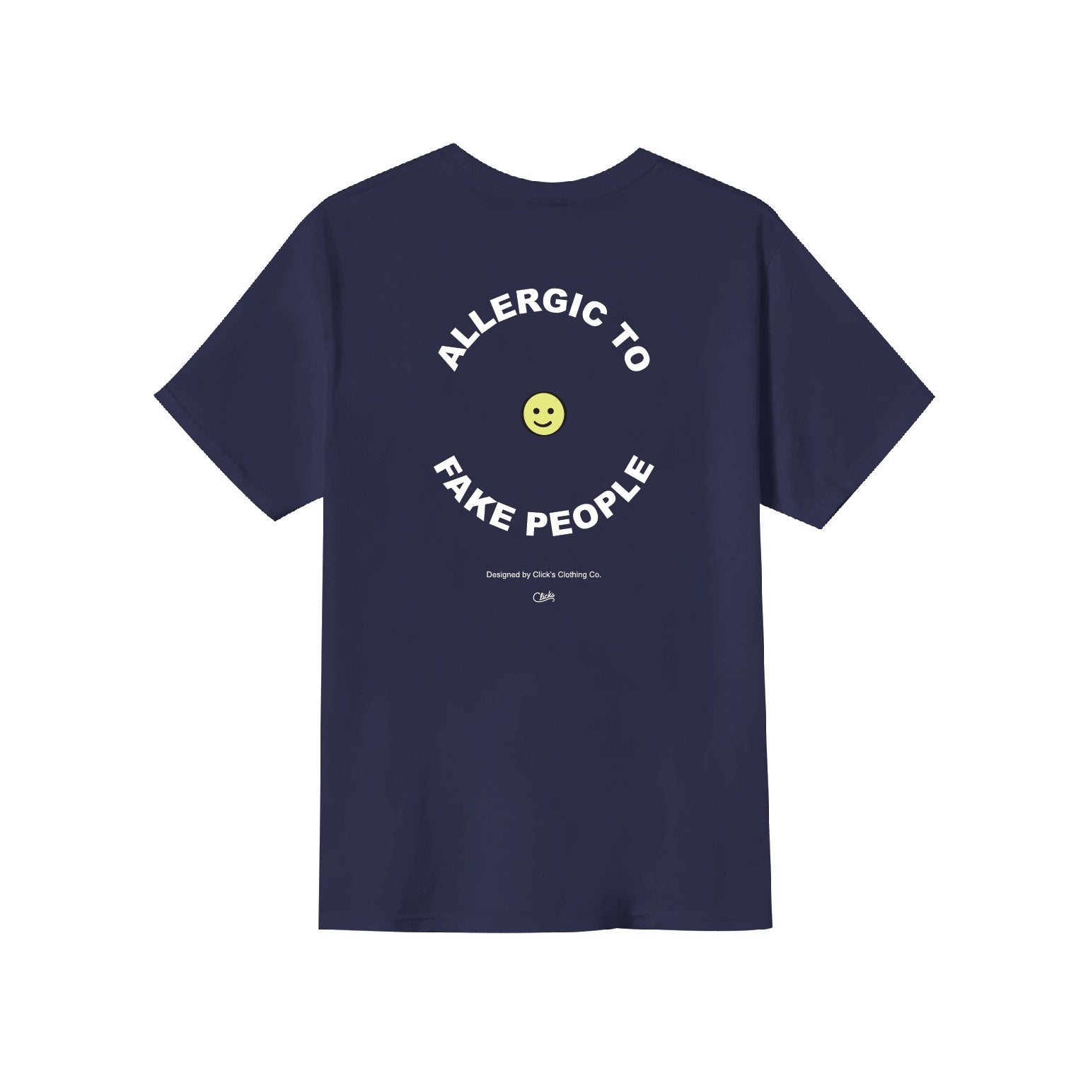 Allergy to fake people S/S Tee