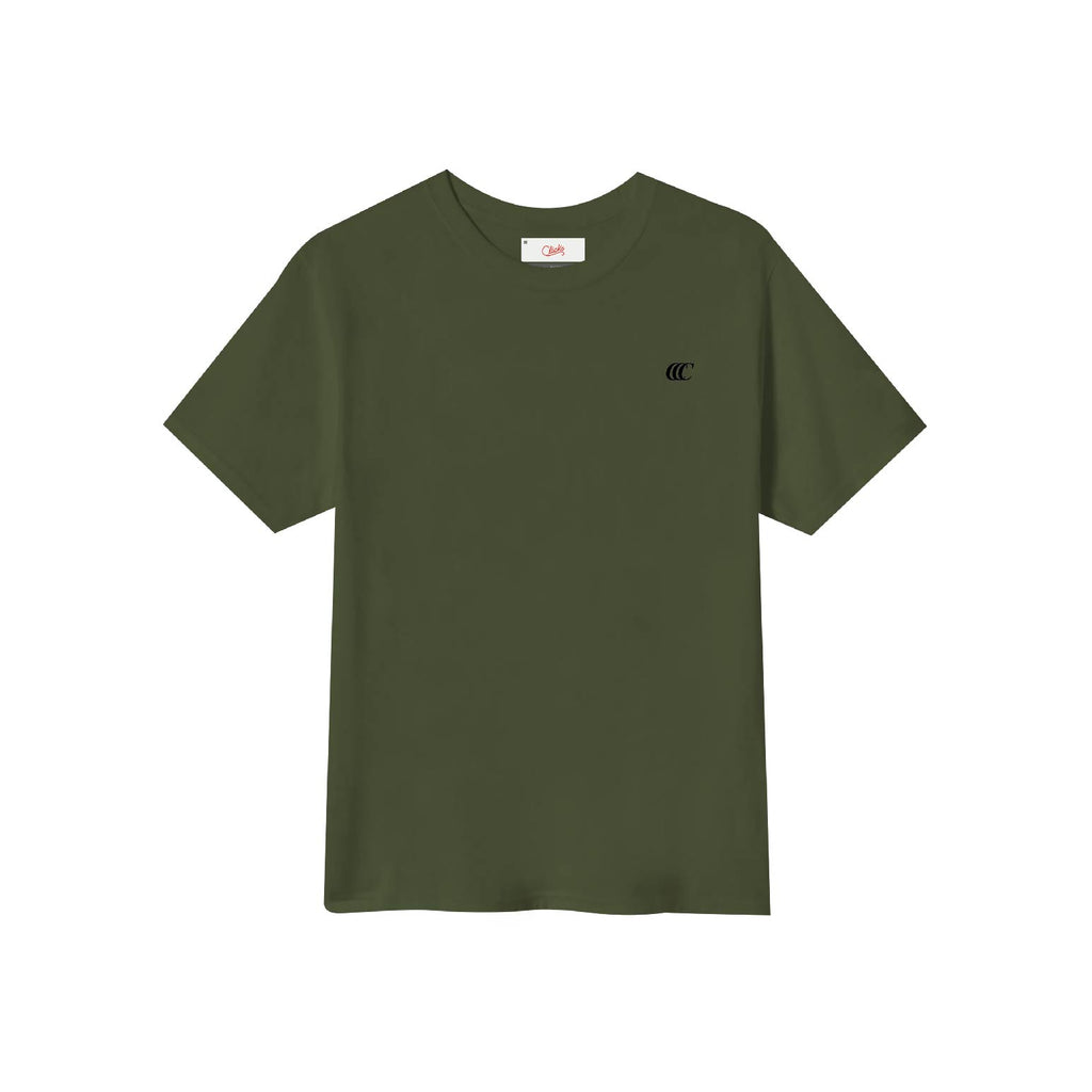Classic Logo Army Green S/S Tee