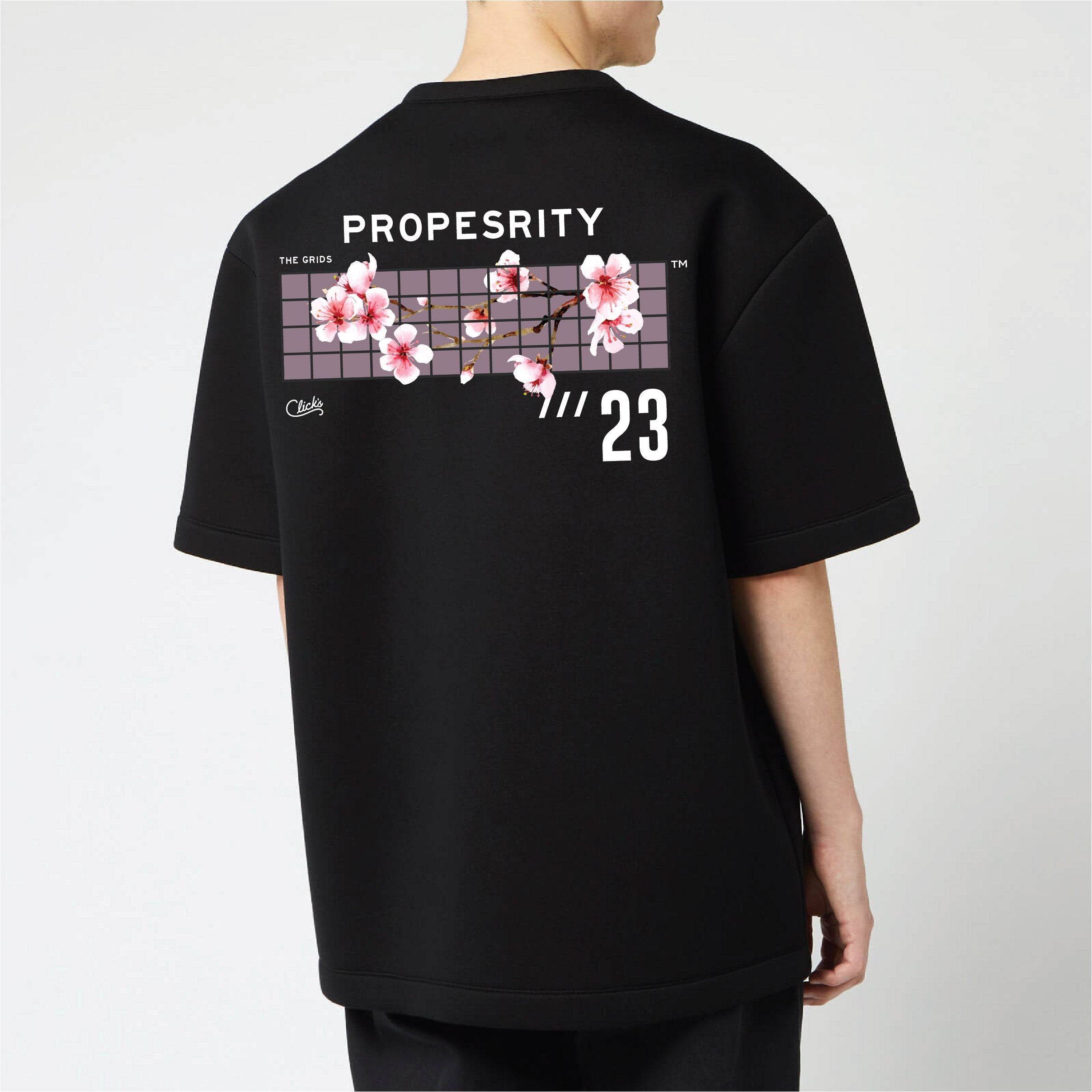 [2pcs BUNDLE] The Grids Tee by Click's