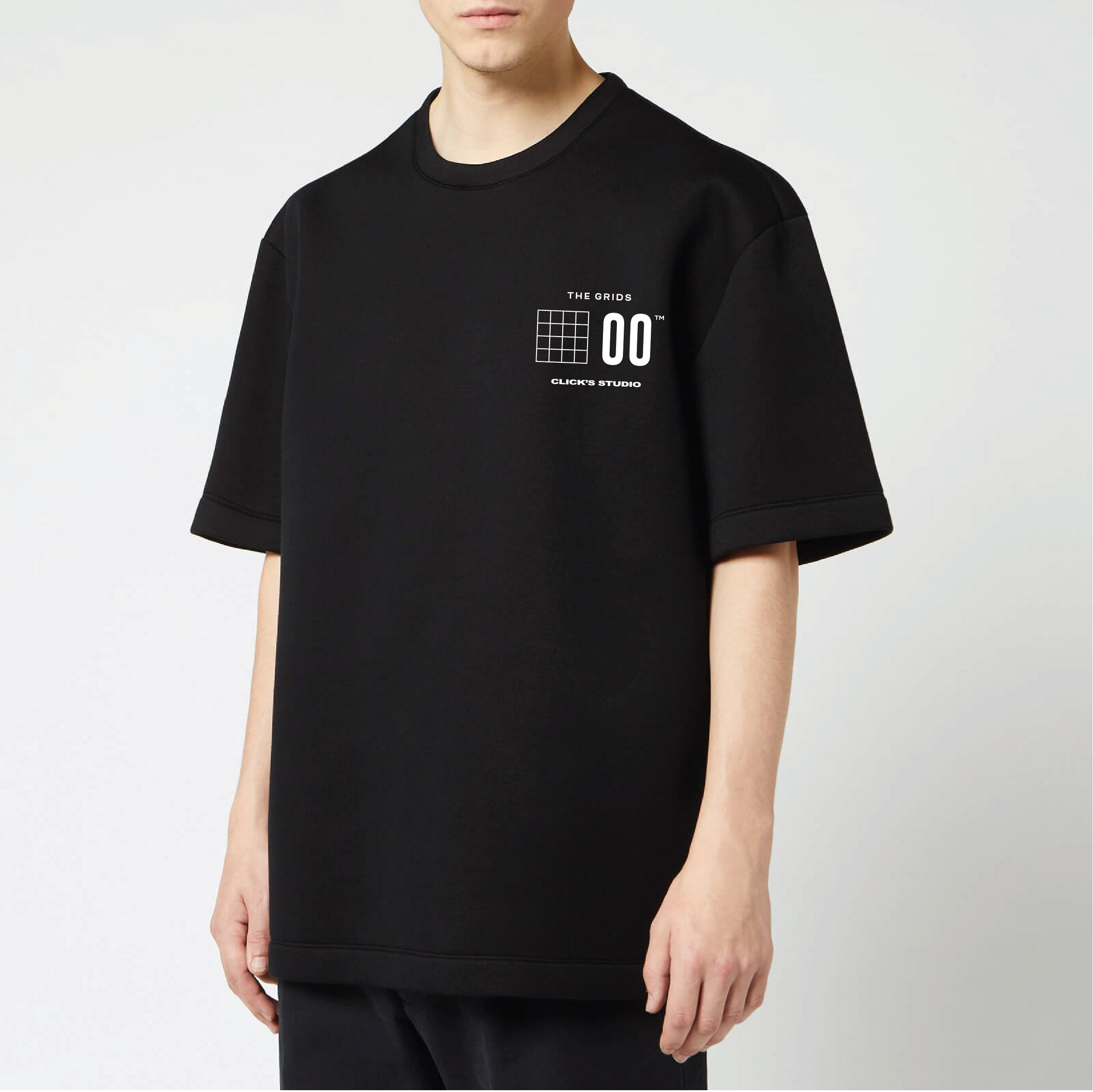 [4pcs BUNDLE] The Grids Tee by Click's