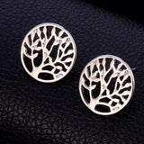 Designer Inspired Tree Of Life Earrings
