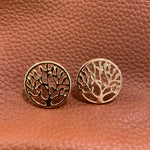 Load image into Gallery viewer, Designer Inspired Tree Of Life Earrings