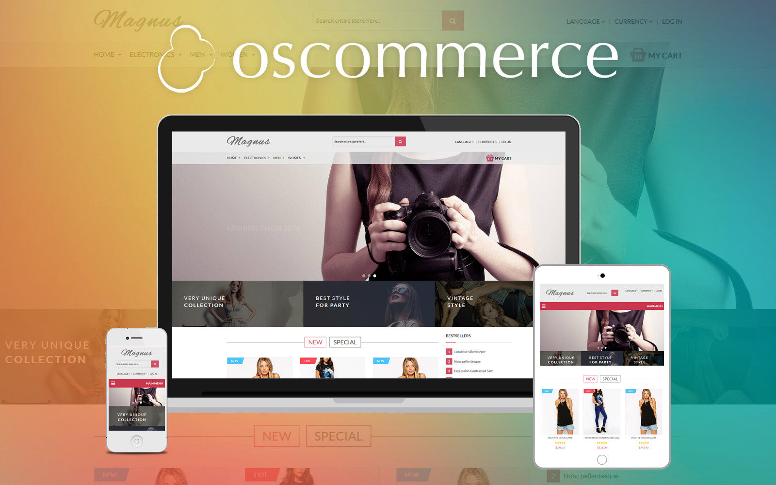 Choosing Between osCommerce Templates and Shopify Themes - Ultrafade