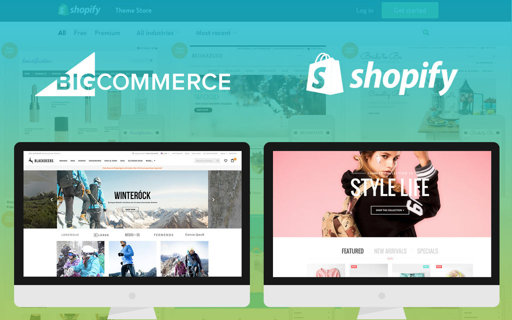 Comparing BigCommerce Templates With Shopify Themes