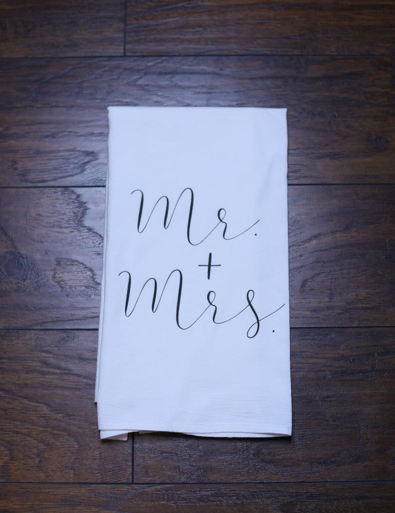 'MR + MRS' Kitchen Towel