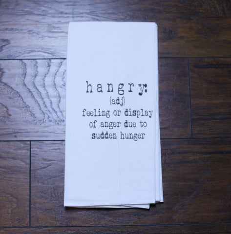 'HANGRY' KitchenTowel