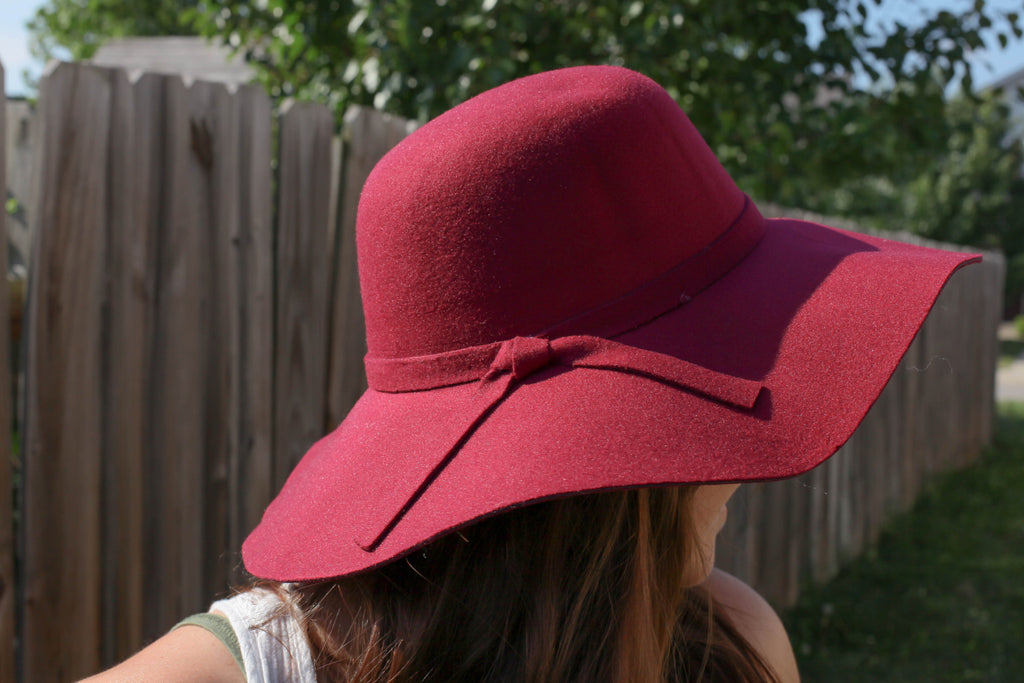 Felt Floppy Hat for Women