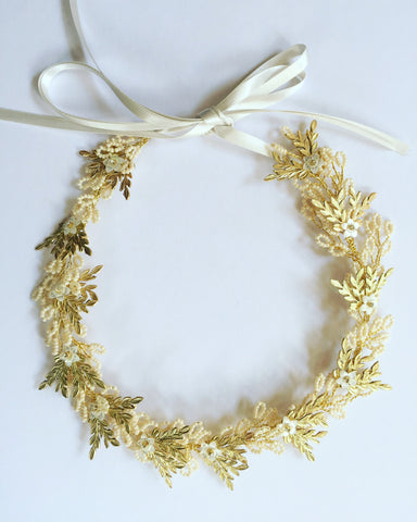 Fern halo or necklace