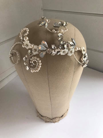 Agatha Bridal Headdress