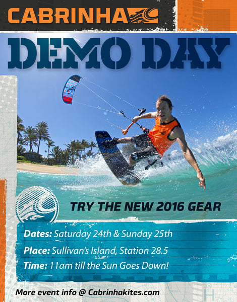 2016 Cabrinha Gear Demo Weekend!