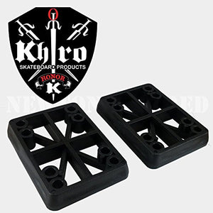 "KHIRO HARD RISER SET 9/16"" BLACK"