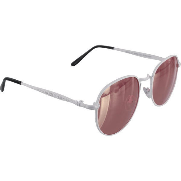 HAPPY HOUR HAWK HOLIDAZE SUNGLASS WHT/ROSE GOLD