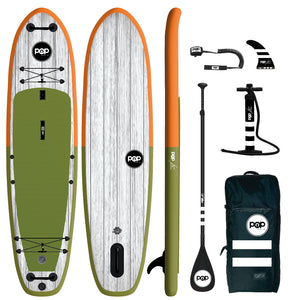 "POP Inflatable Paddleboard 11' 6"" ""El Capitan"" SUP"
