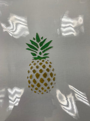 Sandy Bottom Pineapple Color Canvas