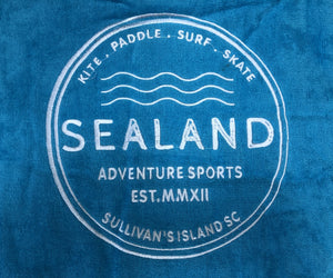 Sealand Logo Beach Towel - Sealand Adventure Sports