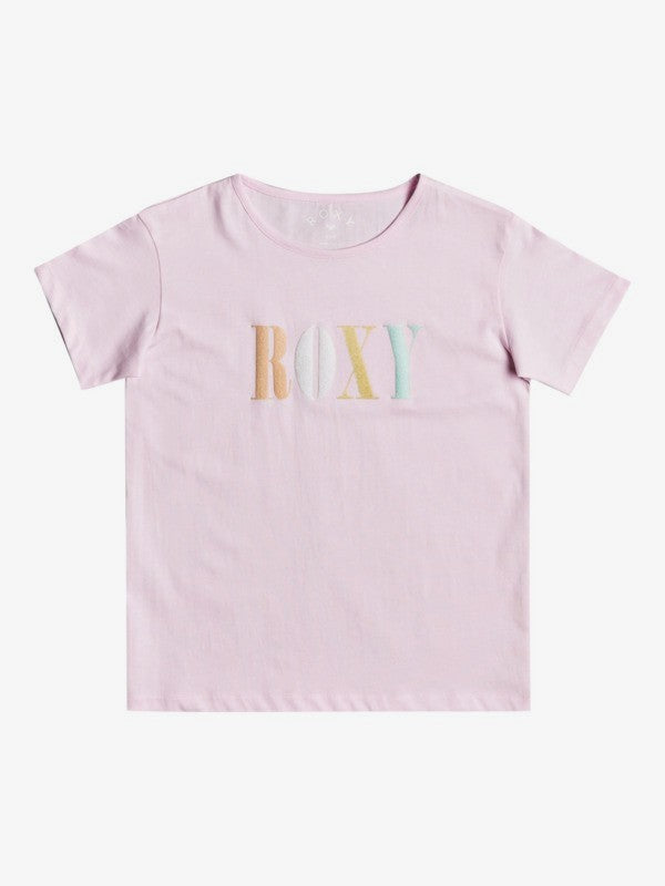Roxy Girl's 4-16 Day And Night Organic T-Shirt