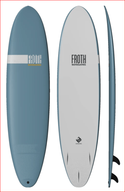 Froth Soft board Surfboard 8' - Boardworks - Sealand Adventure Sports