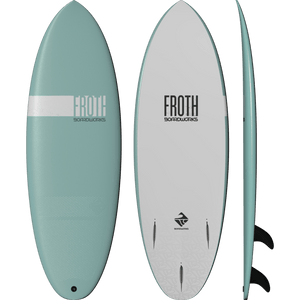 "Froth Soft board Surfboard 5' 6"" - Boardworks - Sealand Adventure Sports"