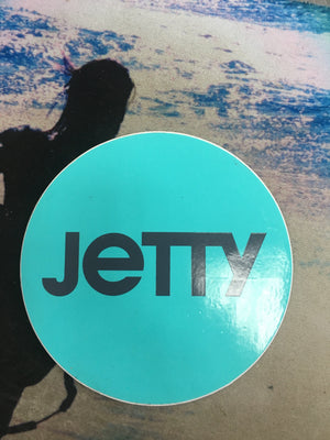 Jetty Circle Decal