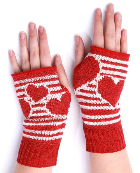 "SOLD!!!  Handwarmers ... ""All My Heart""  SALE 40% off  Last Pair"