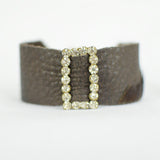 """Luella"" Leather Wrap Bracelet  ReviveAmor Lacy Schoen, designer"