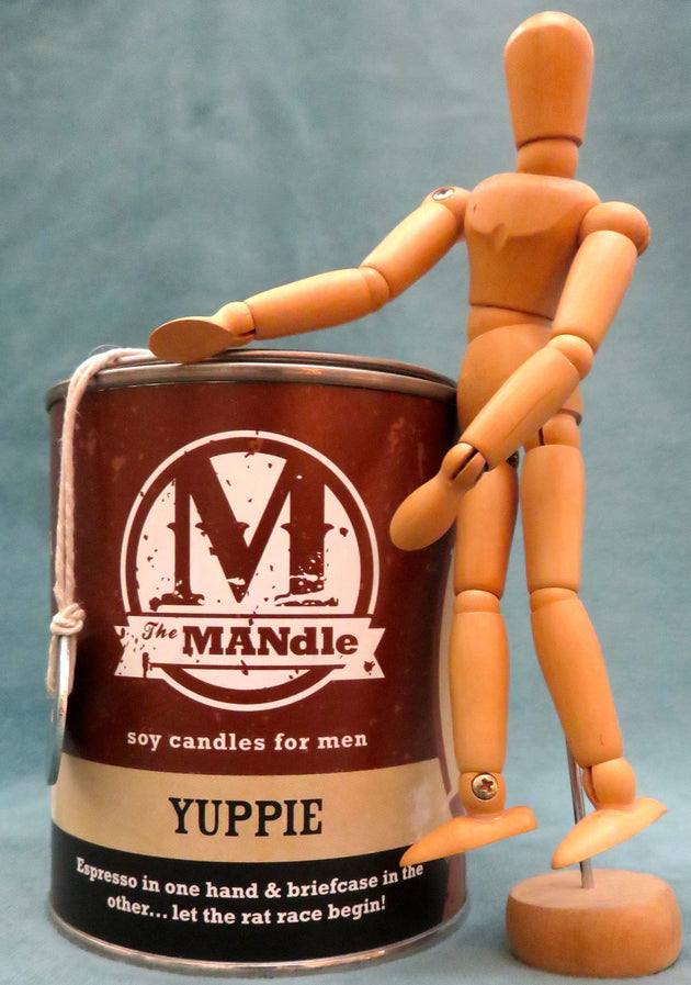 SOLD OUT !!!   The  MANdle ... Yuppie