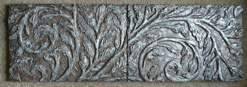 """Study in Motion Bas-Relief"" Jacquelyn Smith Windbigler, artist"