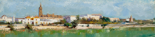 """Panoramic View of Seville"" Rafael Garzón, artist"