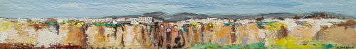 "SOLD!!! ""Panoramic View of The Sierra De Ronda"" Rafael Garzón, artist"