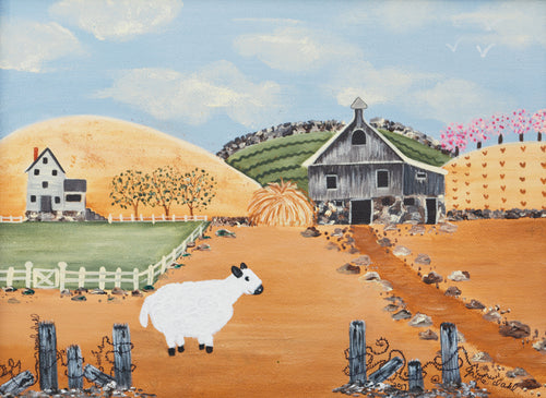"""Lonely Sheep Print""  Gayle Dahl, artist"