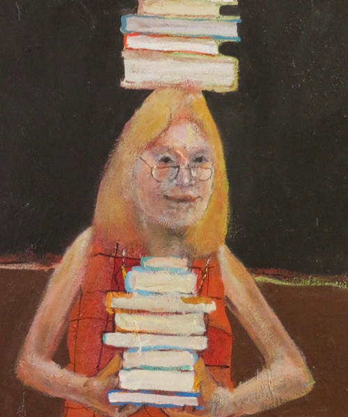 """The Librarian"" W. Michael Bush Art"