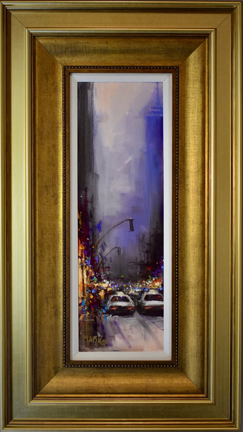"""Sounds of the City II"" Marko Mavrovich, artist   SALE!!!"