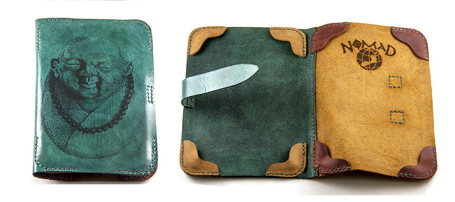 Hand and Hide Leather Kindle Case for two Kindles