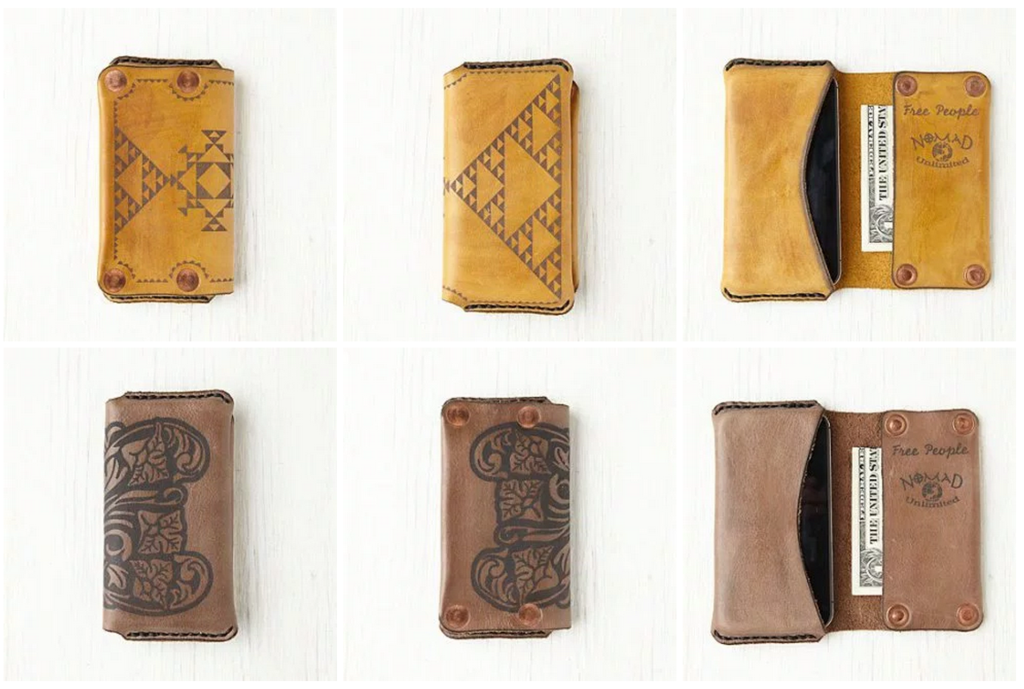 Hand and Hide Free People iPhone Wallet