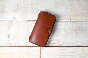 Hand and Hide Leather Phone Wallet for Google Pixel 3