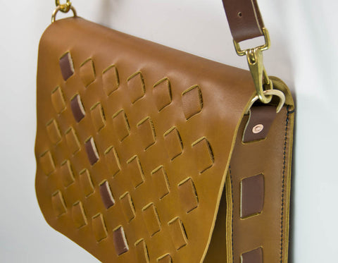 Hand and Hide Custom Leather Purse