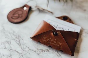 Hand and Hide Handcrafted Leather Goods Made in Portland, Oregon