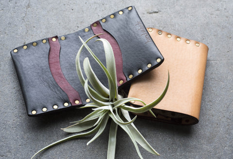 Hand and Hide Leather Italian Wallets
