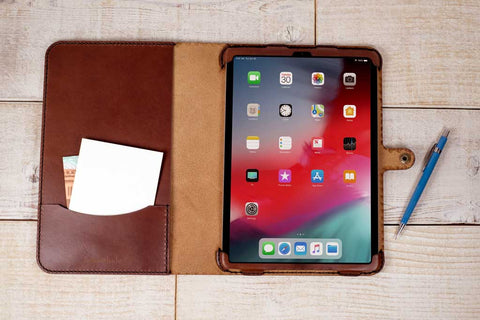 Hand and Hide Custom Leather iPad 11 Case
