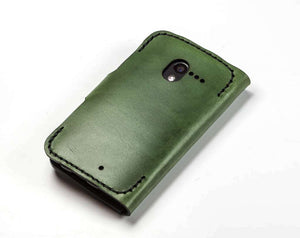 Motorola Moto X (2013) Custom Wallet Case - Phone Wallet - Hand and Hide LLC