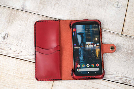 Google Pixel 2 XL Custom Wallet Case