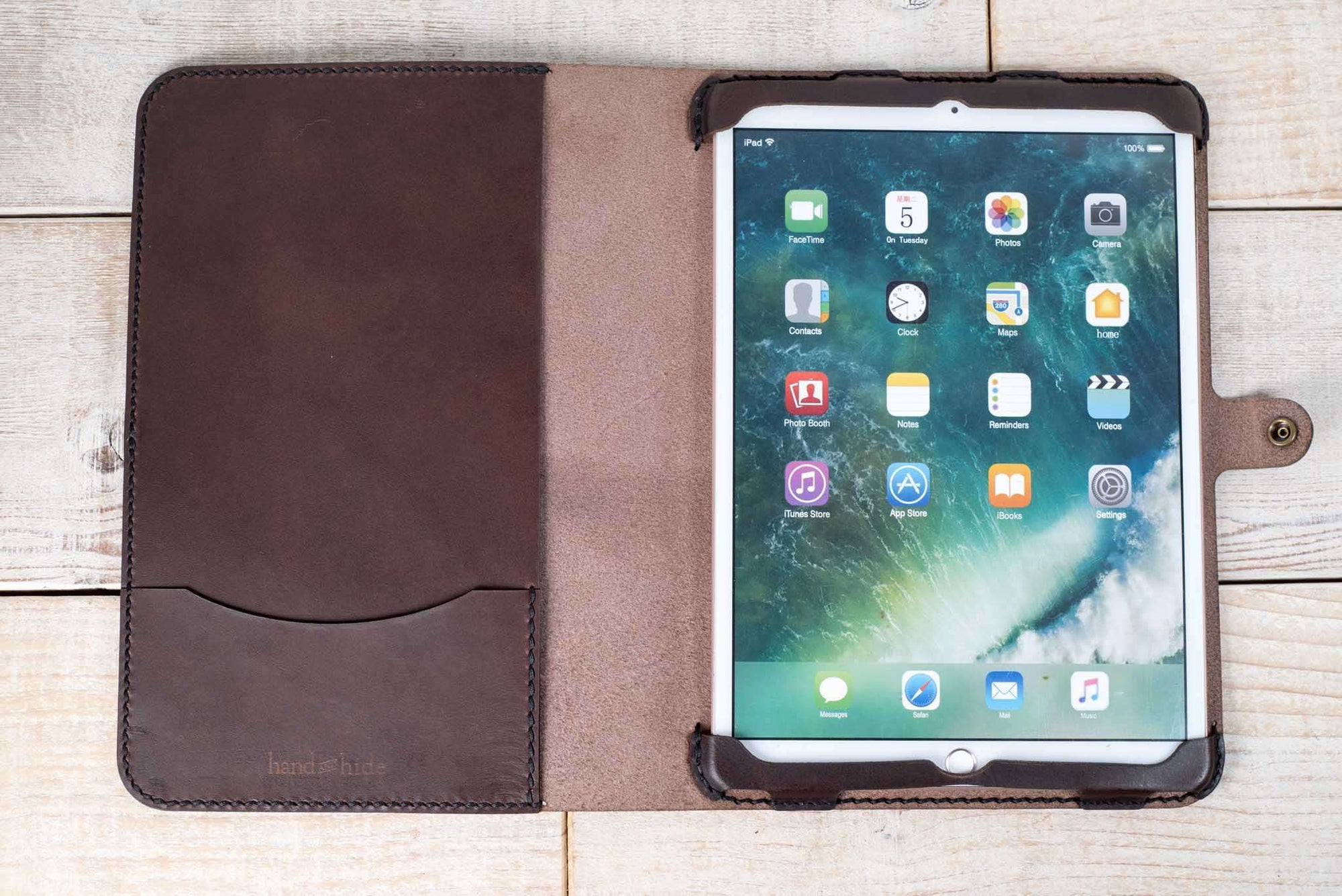 iPad Pro 10.5 Leather Tablet Case | Dark Chocolate