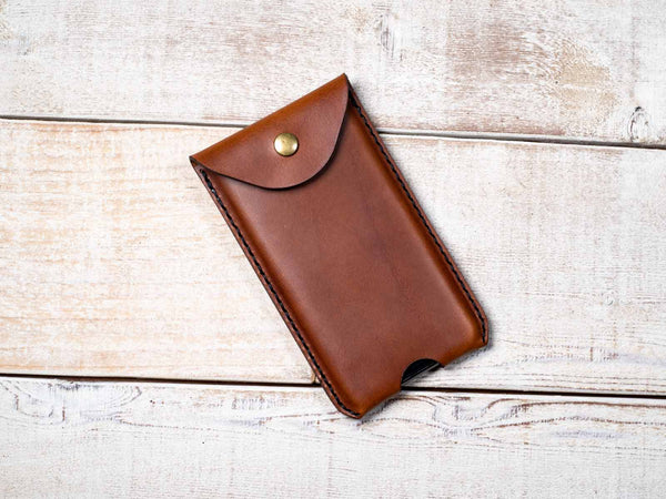 Hand and Hide Leather Smartphone Sleeve